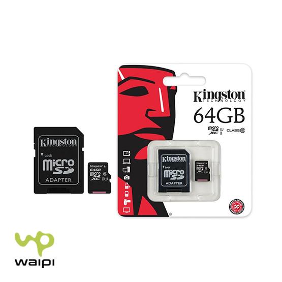 tarjeta memoria microsd kingston