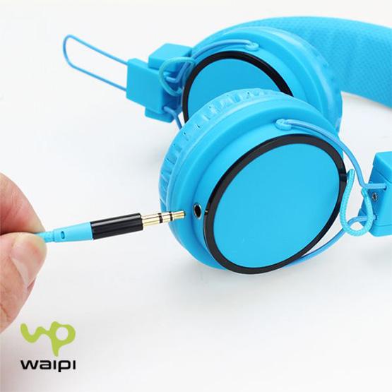 Auriculares estéreo diadema fluor