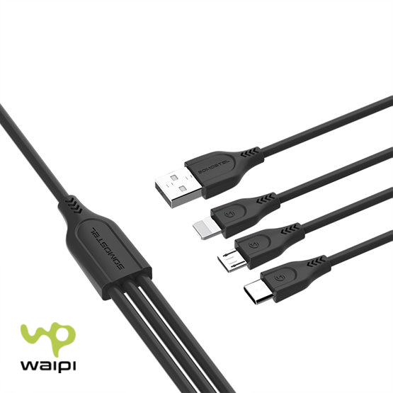 Cable USB Triple Puerto