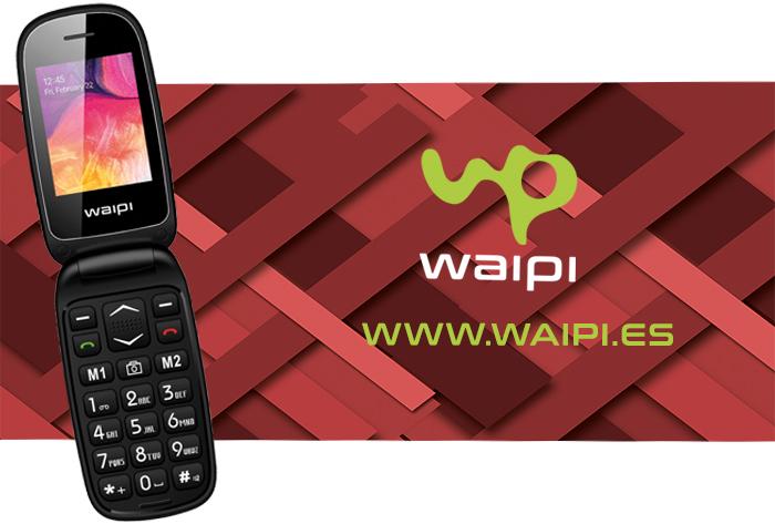Teléfono Waipi, para sencillamente hablar